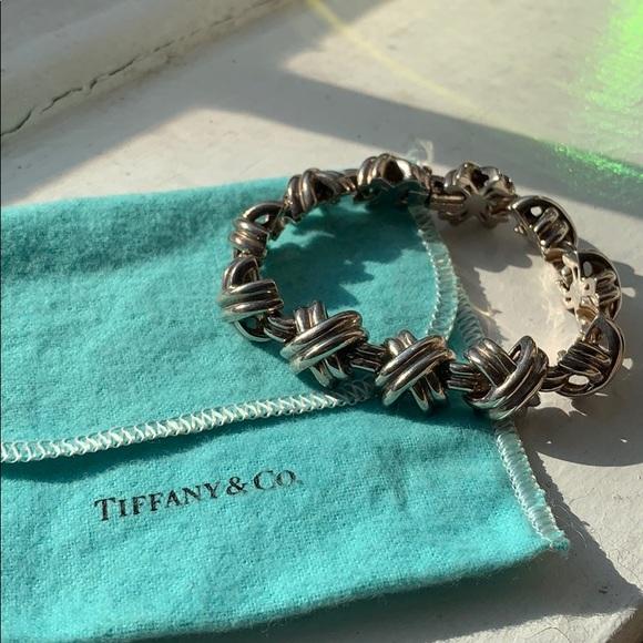 fb878cc4a Tiffany & Co. Jewelry | Rare Vintage Tiffany Co Signature X Bracelet ...